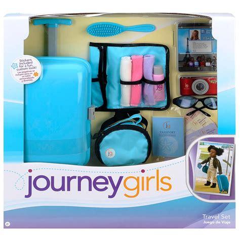 journey girls travel set toys   toys   dolls
