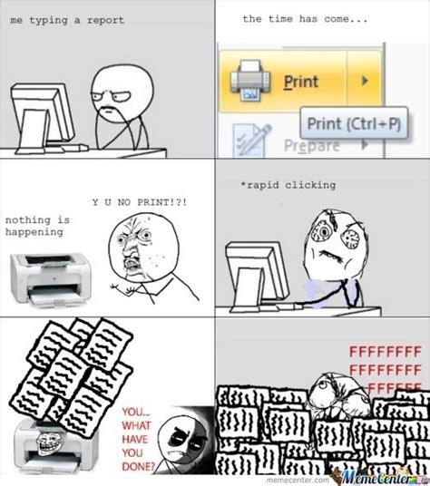 Meme Print - print rage by lisaveng007 meme center