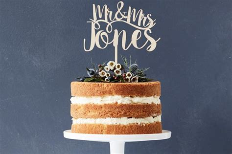 Wedding Cake Toppers: 27 Unique Ideas for Every Couple