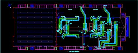 Hvac Drawing In Autocad by Hvac System Dwg Block For Autocad Designs Cad