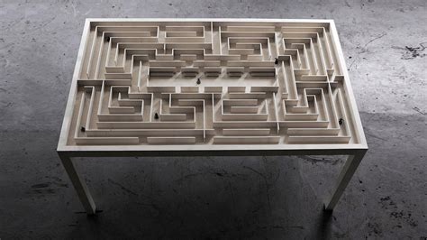 labyrinth table dudeiwantthat