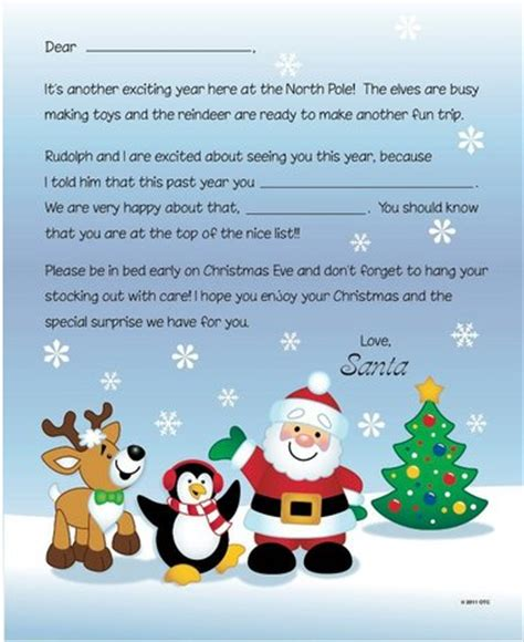 printable santa letters    fun christmas alcom