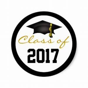2017 Graduation Stickers | Zazzle