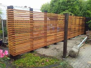 Horizontal Wood Privacy Fence - WoodWorking Projects & Plans