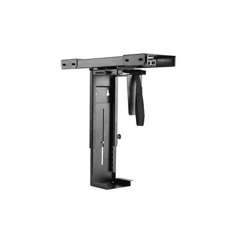 cpu holder desk mount nz adjustable desk mount cpu holder