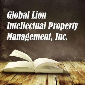 global lion intellectual property usa literary agencies