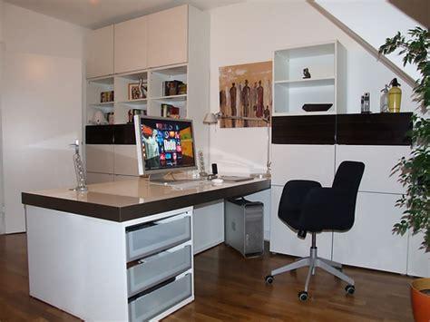 Ikea Hacks Arbeitszimmer by Besta Schreibtisch Regalkombination Vom Ex Ikeahacker