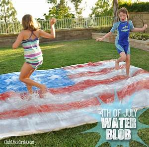 4th of July Party – Water Blob for Kids