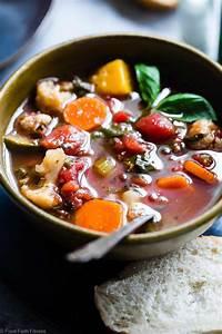 Easy Homemade Crockpot Vegetable Soup   Food Faith Fitness