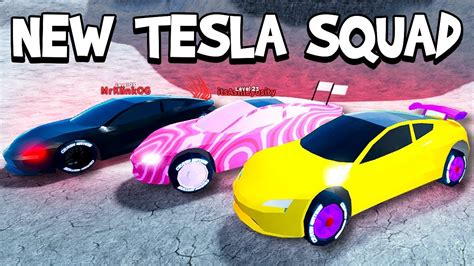 buying  dream car tesla roadster   roblox vehicle