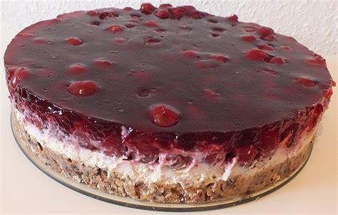Kuchen Mit Kastenform Und Kirschen Prinzenrolle Torte Mit Kirschen Edelgard38 Chefkoch De
