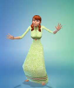 Frozen Sims 4 CC
