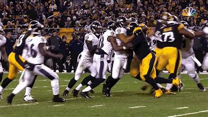 Ravens Dirty Steelers Hit Player Suggs Nfl