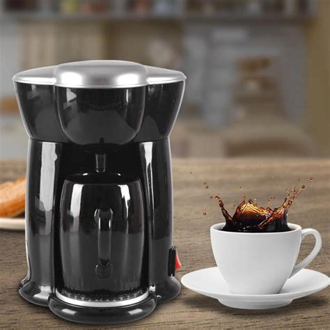 Pop in your favorite coffee pod, press a button or two, and you're ready to go. 300W Home Mini Single Cup Drip Coffee Makers Electric ...