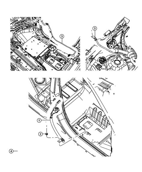 Jeep Battery Wiring Diagram by 68039955ah Jeep Wiring Battery Negative Jeep Parts