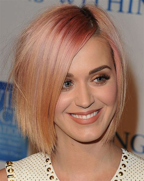 Strawberry Hairstyles by Katy Perry Inspired Bob Haircuts Hairstyles