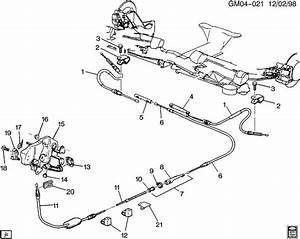 Buick Lesabre Parking Brake Cable  Equalizer  Adjuster