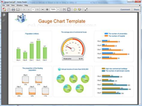 gauge chart templates  word powerpoint