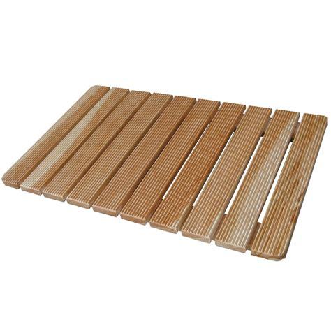 pedana doccia pedana doccia 78x52 assi in legno larice ideale piatto