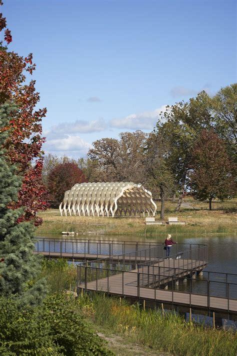 organic architecture lincoln park zoo pavilion