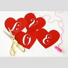 Valentine's Day Love Banner  Skip To My Lou