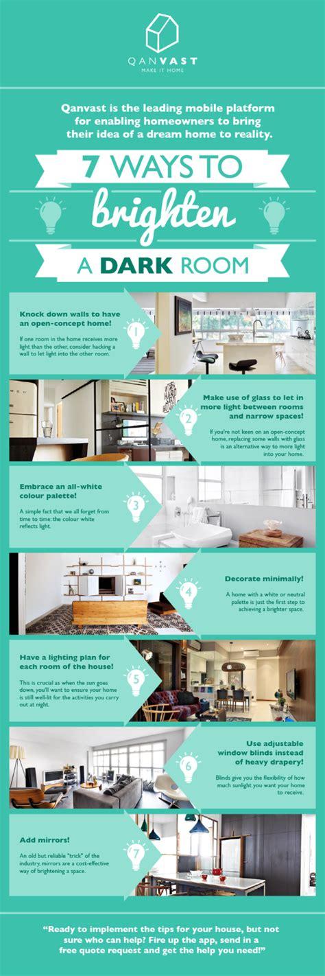 7 Ways To Brighten A Dark Room Qanvast