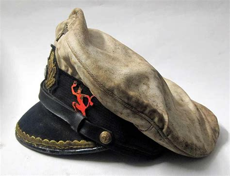 Dog Boat Captain Hat by Reproduction German U Boat Submarine Captains Peaked Cap