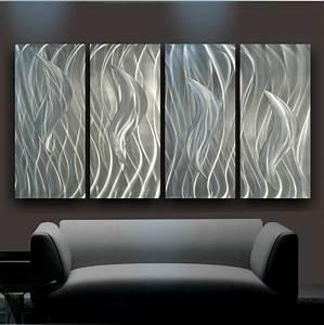 Wall art designs contemporary metal landscape