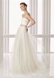 whiteazalea simple dresses ethereal tulle simple wedding With tulle wedding dress