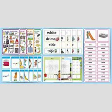 * New * Phase 5 Split Digraph Practice Bumper Activity Pack