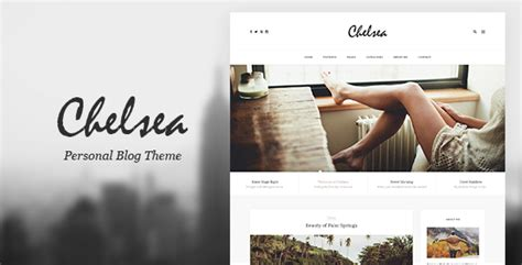 Personal Blog Template For Travelers And
