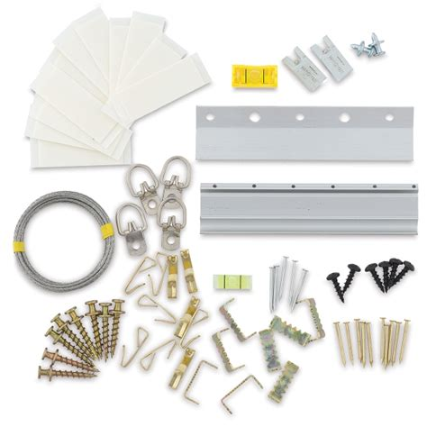 hanging l kit hangman picture and poster hanging kit blick materials