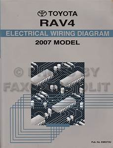 2007 Toyota Rav4 Wiring Diagram Manual Original