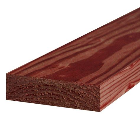 pressure treated deck boards home depot construction select 2 in x 6 in x 10 ft 2 ground