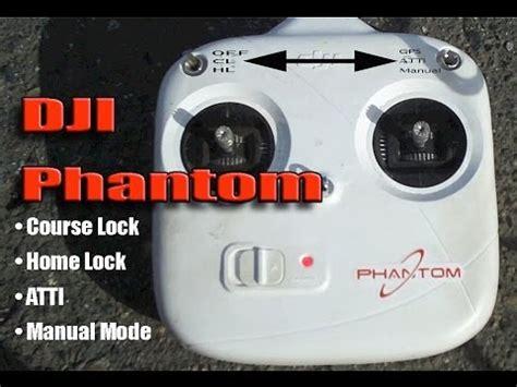dji phantom ioc explained atti  lock home lock