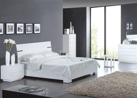 chambre et gris décoration chambre gris et blanc
