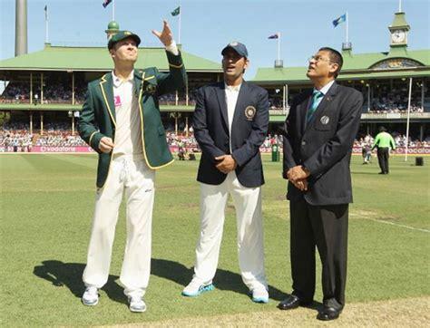 toss  dumped  test cricket rediff cricket