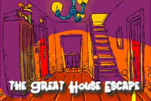The Great House Escape  Walkthrough, Comments And More