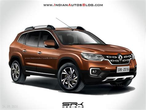 Gambar Mobil Renault Duster by 2018 Renault Duster With 7 Seats Rendered