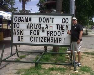 Obama, Don't Go to Arizona   kastle.me