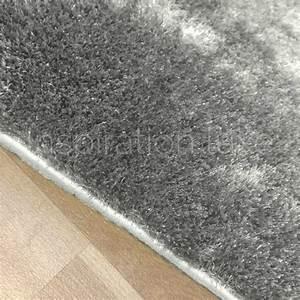 tapis sur mesure gris clair shaggy fin et doux With tapis shaggy gris clair