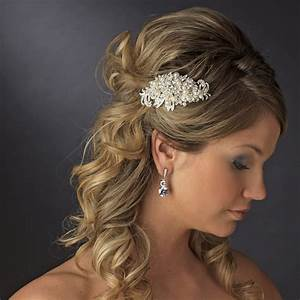 Wedding Hair Clips And Combs Hairstyles