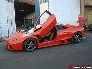 Homemade Lamborghini Reventon Boasts Fiberglass Body ...