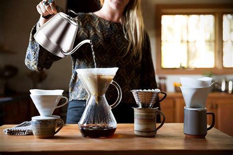 coffee pour brewing brew kettle hand ways dripper making methods gooseneck method overs showdown pourover petagadget drip lipulse brewer