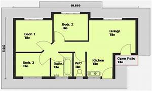 luxury 3 bedroom house plans 3 bedroom house plan south With simple house plan with 3 bedrooms