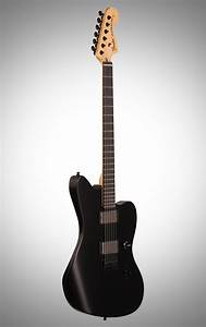 Fender Jim Root Jazzmaster Electric Guitar  With Case   Flat Black