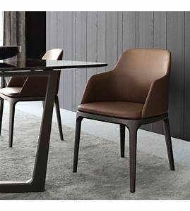 Stuhl Mit Armlehne : grace stuhl mit armlehne poliform milia shop ~ Watch28wear.com Haus und Dekorationen