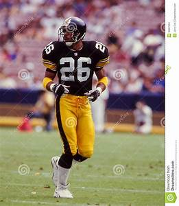 Rod Woodson Pittsburgh Steelers Editorial Stock Photo