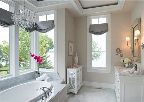 Neutral Bathroom Decor by Family Home With Neutral Interiors Home Bunch