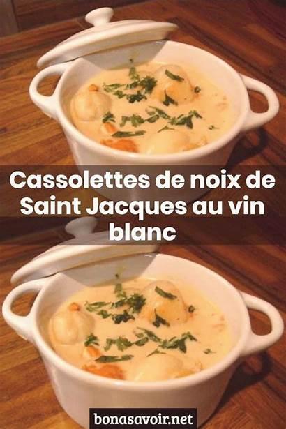 Recette Cassolette Jacques Recipes Cassolettes Noix Saint